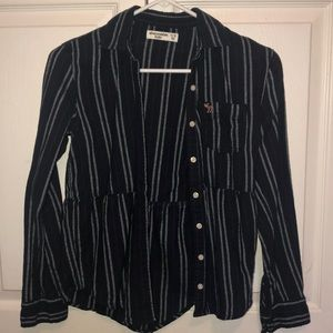 Girls size 11/12 button up.